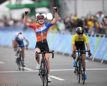 Olympic Athletes Dutch cyclist Anna van der Breggen