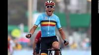 Olympic Athletes Greg Van Avermaet of Belgium