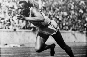 Olympic Athletes Jesse-Owens Photo Associated Press