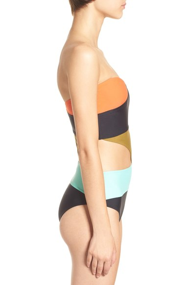 Volcom Simply Solid One Piece Suit Multi $90 side