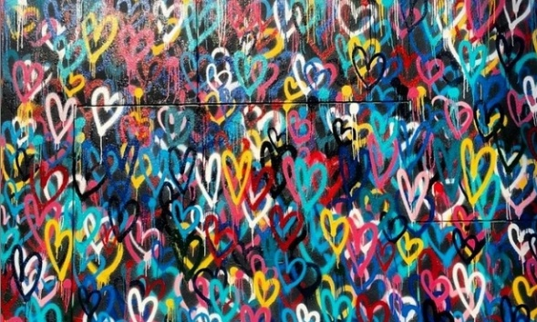 bleeding-hearts-love-wall-by-james-goldcrown-nyc