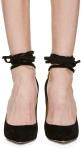 charlotte-olympia-black-black-suede-sabine-pumps front