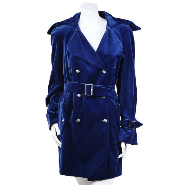 Decades BLUE VELVET JACKET Chanel $2900