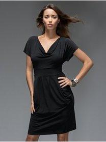 NY and Co. black jersey dress