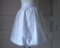 Satin Bubble Skirt