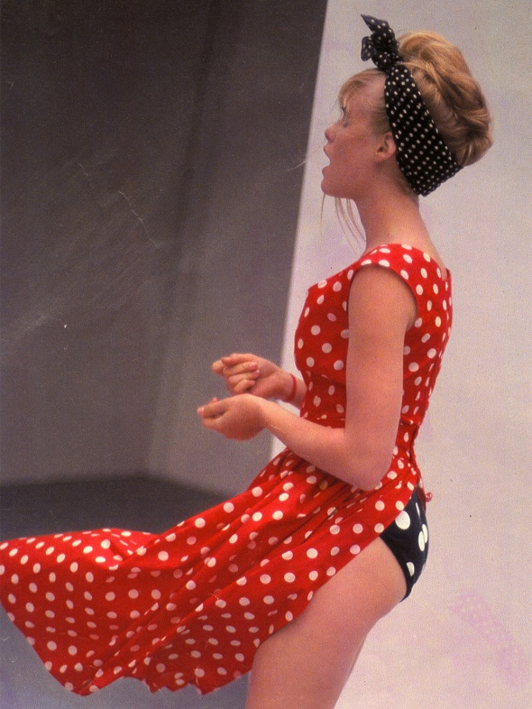 agnes-b-polka-dot-flyaway-dress
