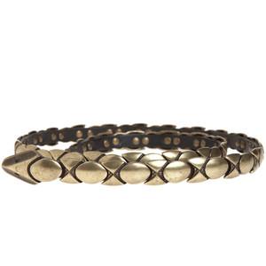 HS DESIGN Snake Belt from Calypso $149