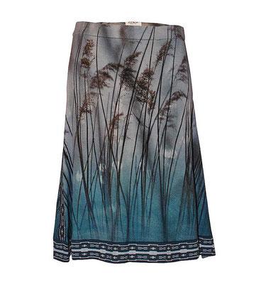 ICKE Berlin wool knit skirt Reed