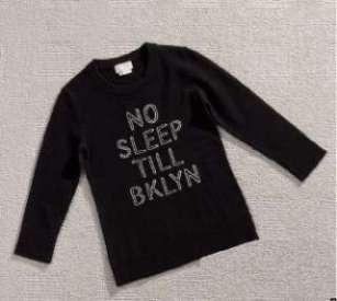 "Kate Spade ""No Sleep Till Brooklyn"" Sweater"