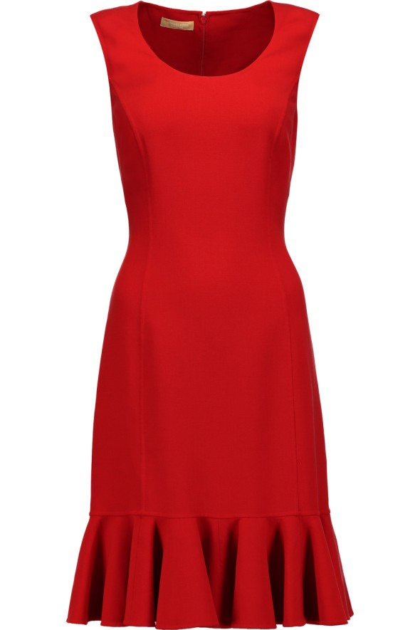 outnet-michael-kors-collection-stretch-wool-dress-red