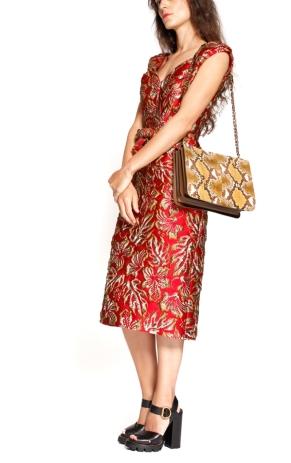prada-red-gold-brocade-dress-3