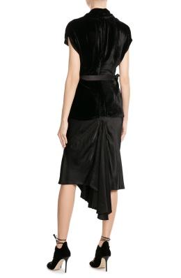 rick-owens-draped-velvet-top-and-skirt-black-back