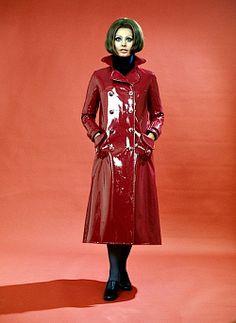 sophia-lauren-red-patent-trench-coat
