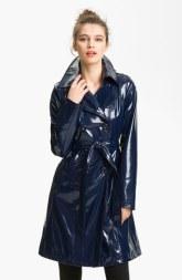 via-spiga-womens-black-double-breasted-patent-rain-slicker