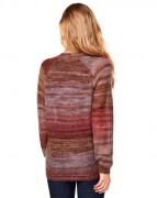 benetton-multi-colored-sweater-brown-back