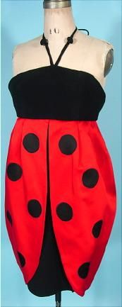 ladybug-dress-moschino-vintage-1980s