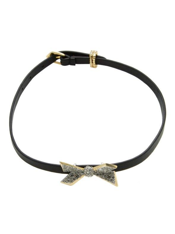 alexis-bittar-origami-bow-encrusted-collar