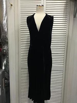 ebay-velvet-1920s-gatsby-titanic-downton-abbey-black-silk-velvet-vintage-sleeveless-dress