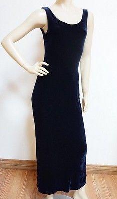ebay-velvet-betsey-johnson-rich-dark-navy-blue-soft-velvet-long-flattering-dress-sz-8