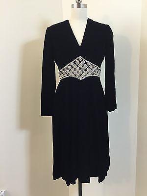 ebay-velvet-true-vintage-60s-70s-mollie-parnis-saks-5th-ave-black-velvet-dress-large
