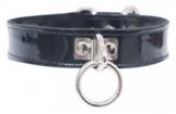 leather-etc-patent-o-ring-collar-black