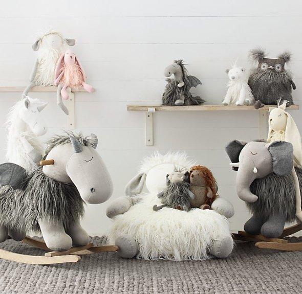 wooly-plush