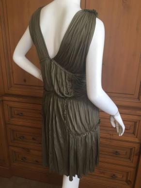alexander-mcqueen-green-draped-goddess-mini-dress-mcq-fall-2010-2