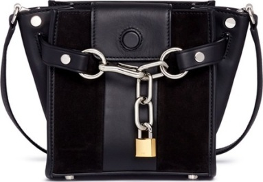 alexander-wang-attica-mini-suede-and-leather-chain-satchel