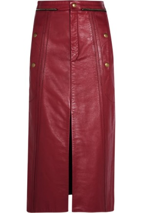 chloe-leather-pencil-skirt-red