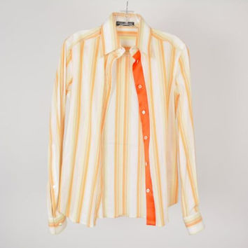 Dolce & Gabbana Striped Multi Color Long Sleeved Shirt