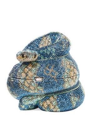 judith-leiber-snake-crystal-clutch