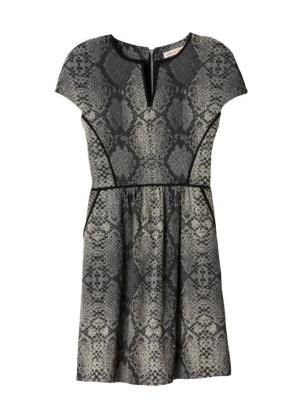 Rebecca Taylor Snakeskin Dress