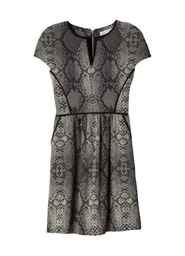 rebecca-taylor-snakeskin-dress
