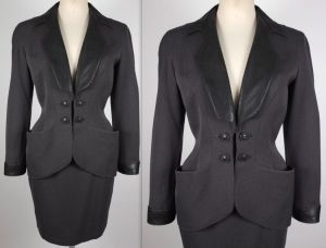 thierry-mugler-grey-suit-vintage