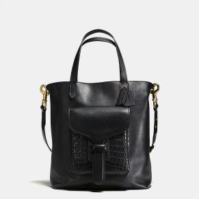 Coach x Rodarte Pocket Tote, $1,200 black