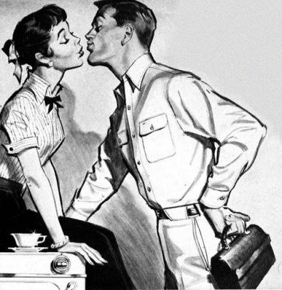 Kiss before work