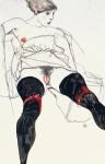 schiele-egon-the-girl-of-the-black-stockings