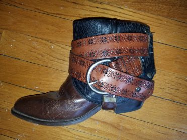 Upcycled Cowboy Boots