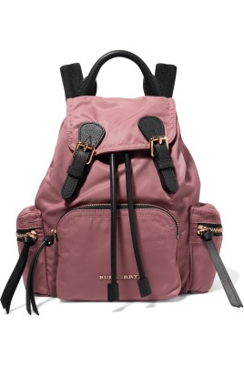 Burberry Garbadine Leather pink backpack