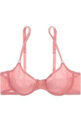 Cosabella Lace Soire Mesh Bra Pink