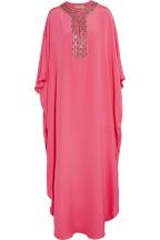 Emilio Pucci Pink Maxi Dress Silk