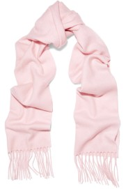 Equipment Baby Pink Cashmere Scarf