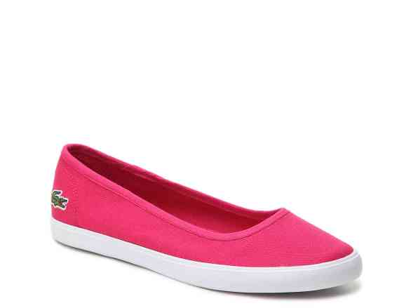 Lacoste Marthe Pink Flat