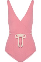 Lisa Marie Fernandez one piece swimsuit Pink