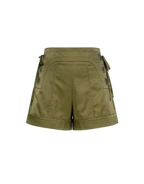Marissa Webb Marie LAce Up Shorts $398 IfChic