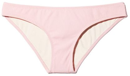 SOLID & STRIPED The Alice Petal Rib Bikini bottom pink