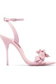 Sophia Webster Lilico Floral Sandals Pink