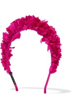 Yunotme silk faile Pink Headband