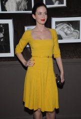 Emily Blunt Yellow Dress