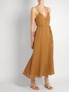 Loup Charmant Ballet Wrap cotton dress $250 model